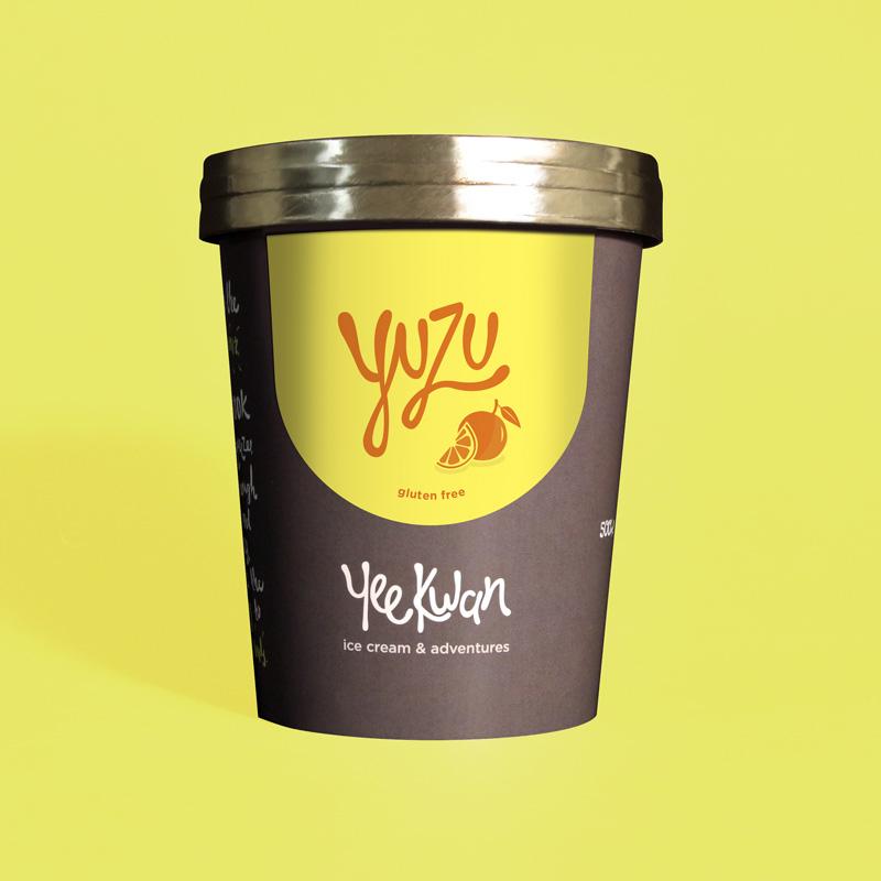 Yuzu Ice Cream