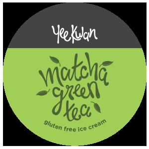 Yee Kwan Matcha Green tea Ice cream - Gluten free ice cream
